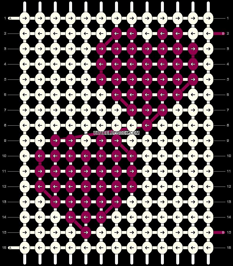 Alpha pattern #22835 pattern