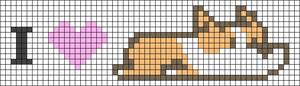 Alpha pattern #22848