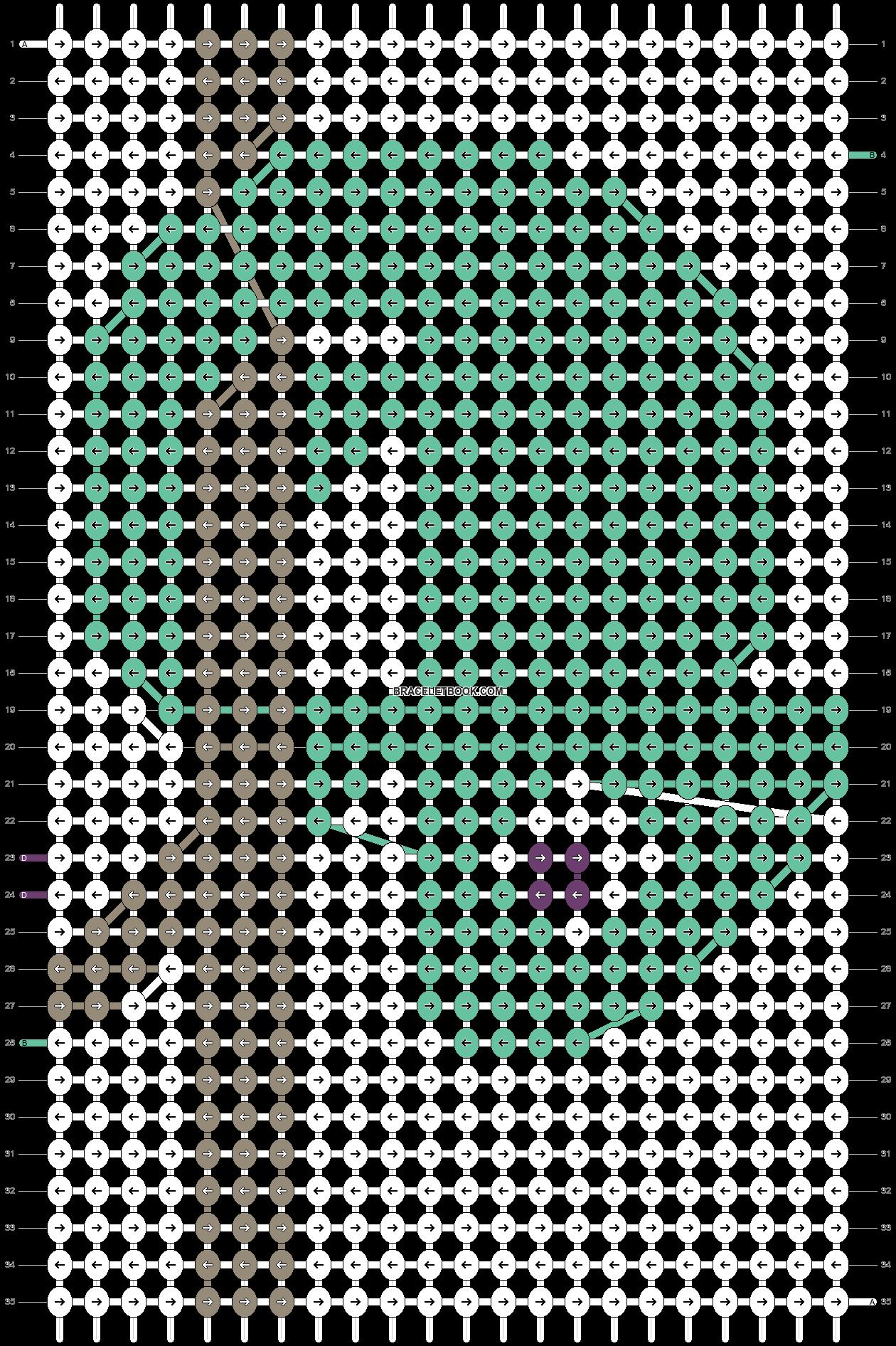 Alpha pattern #22855 pattern