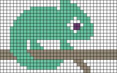 Alpha pattern #22855