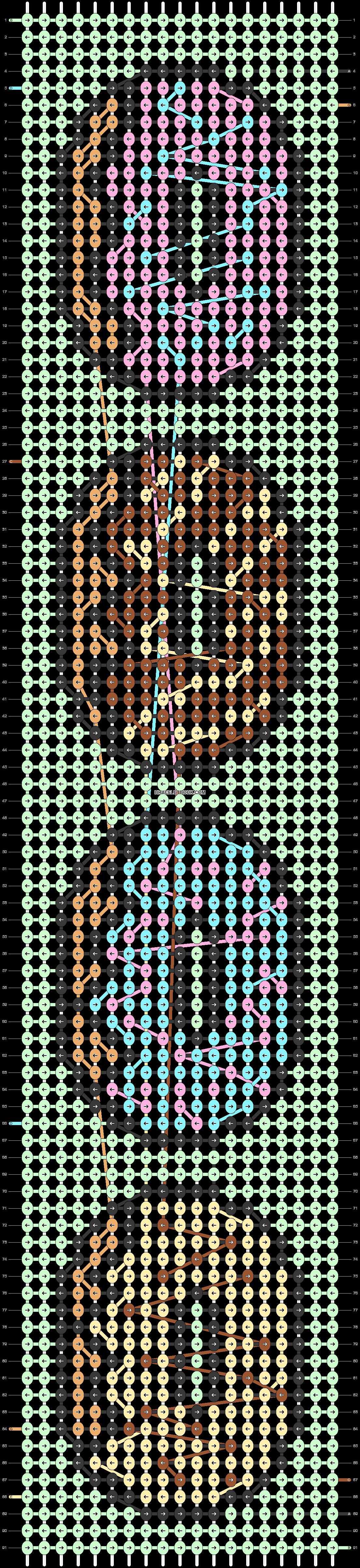 Alpha pattern #22878 pattern