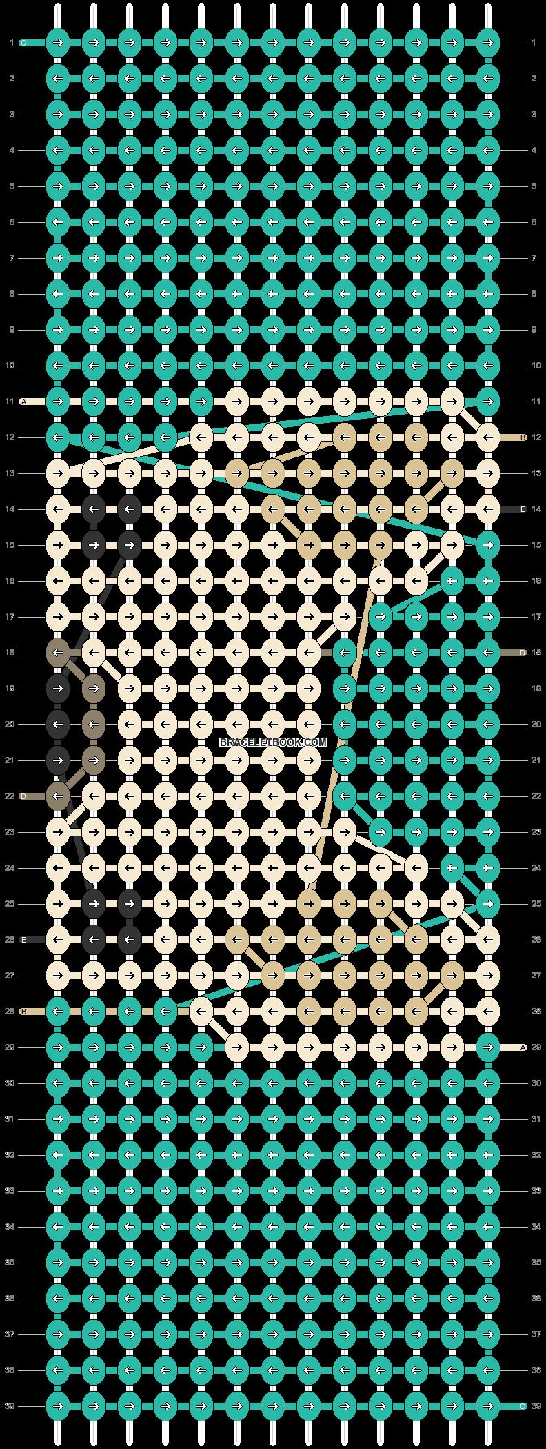 Alpha pattern #22880 pattern