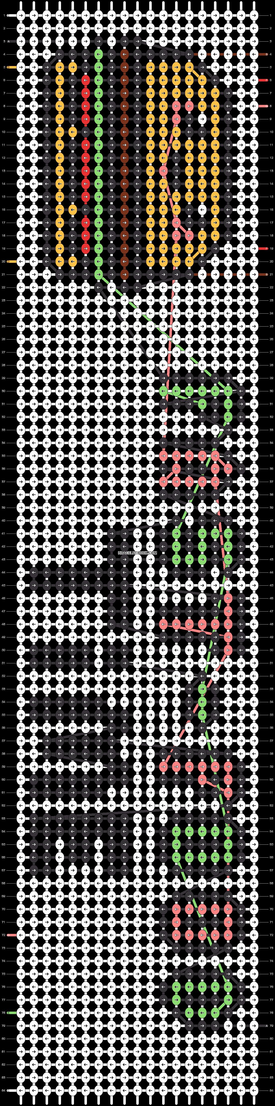 Alpha pattern #22900 pattern
