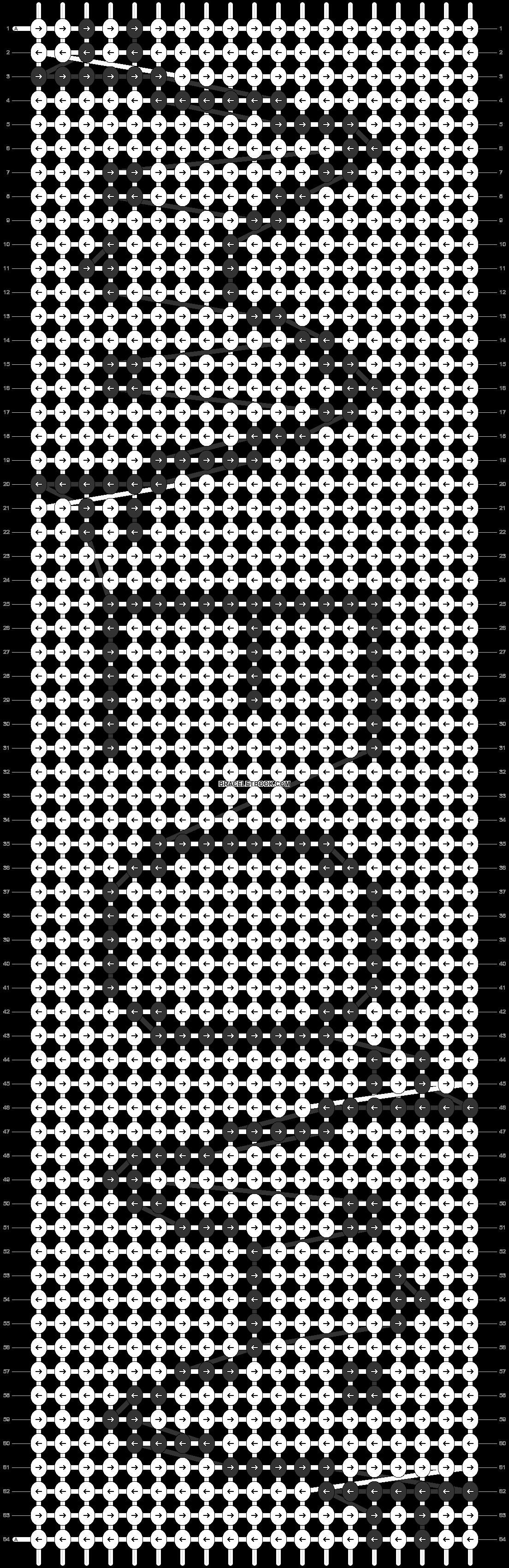 Alpha pattern #22906 pattern