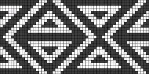Alpha pattern #22909