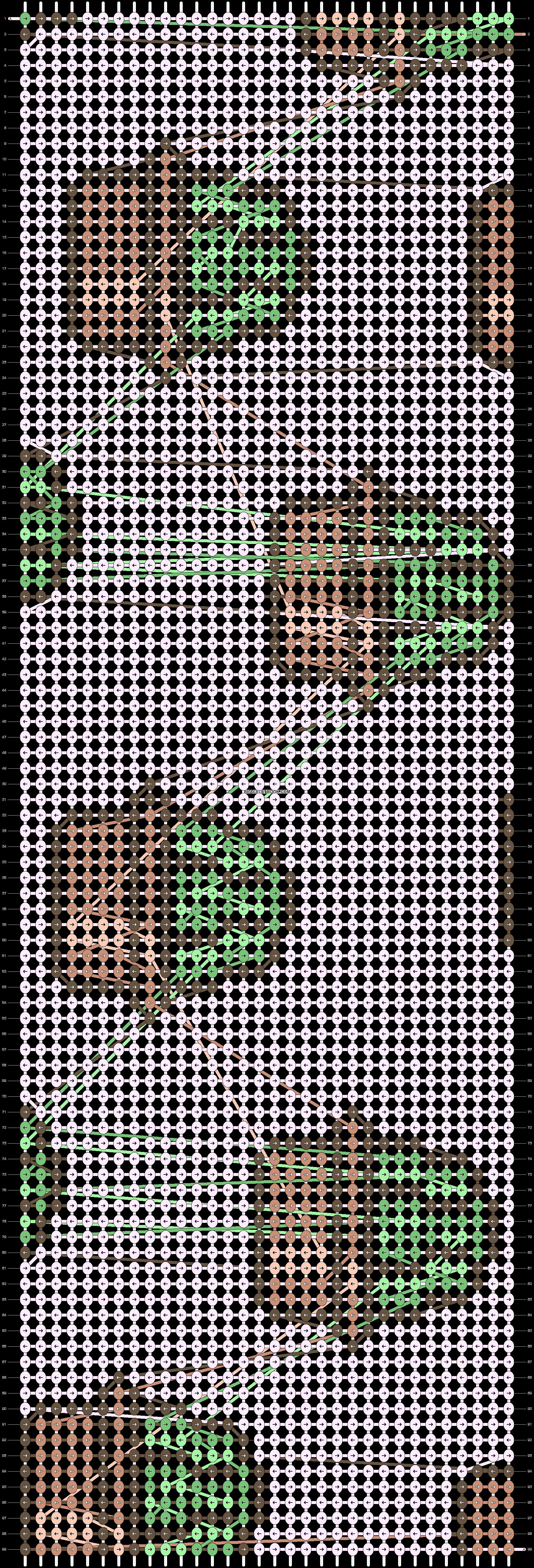 Alpha pattern #22920 pattern