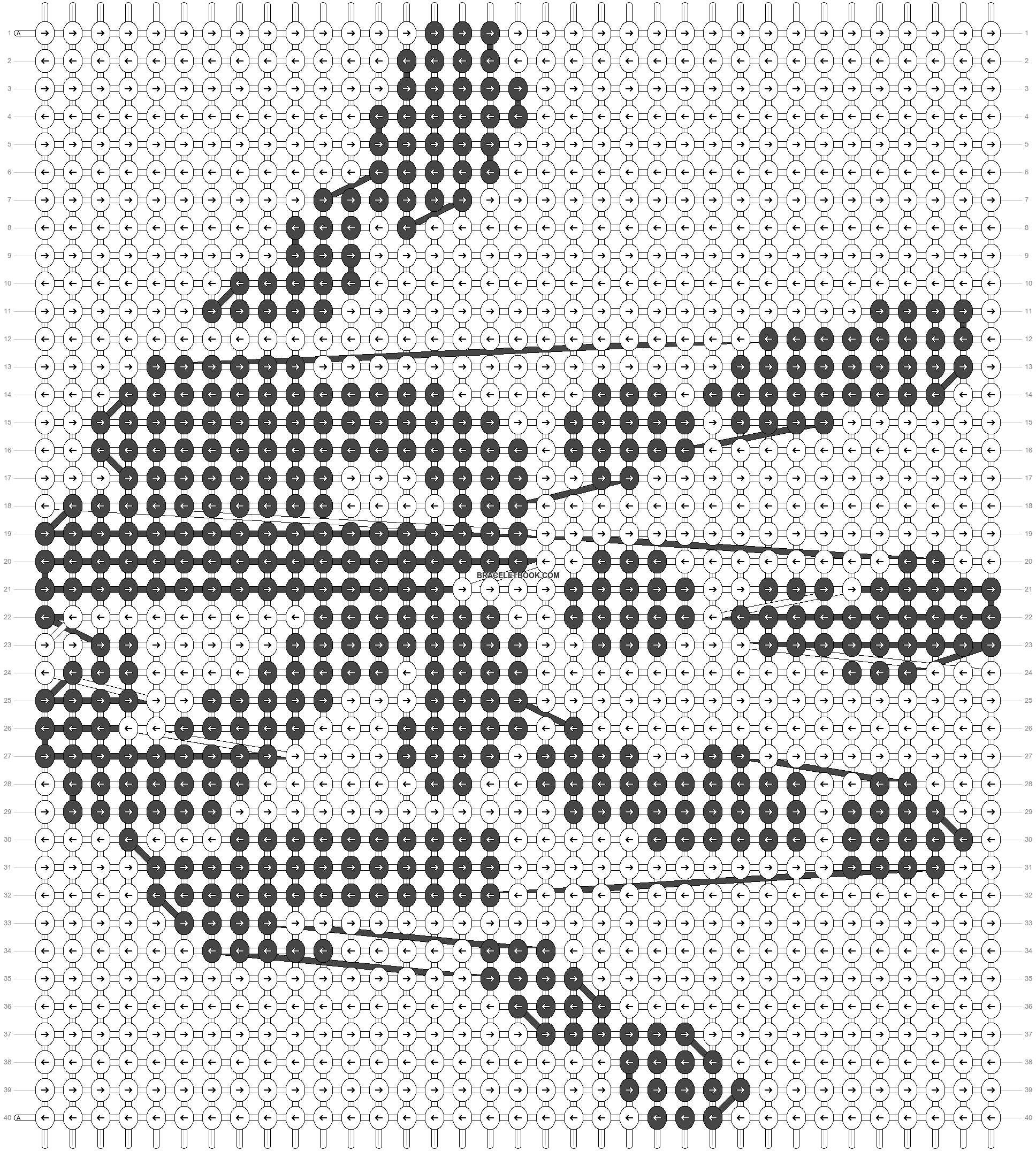 Alpha pattern #22955 pattern