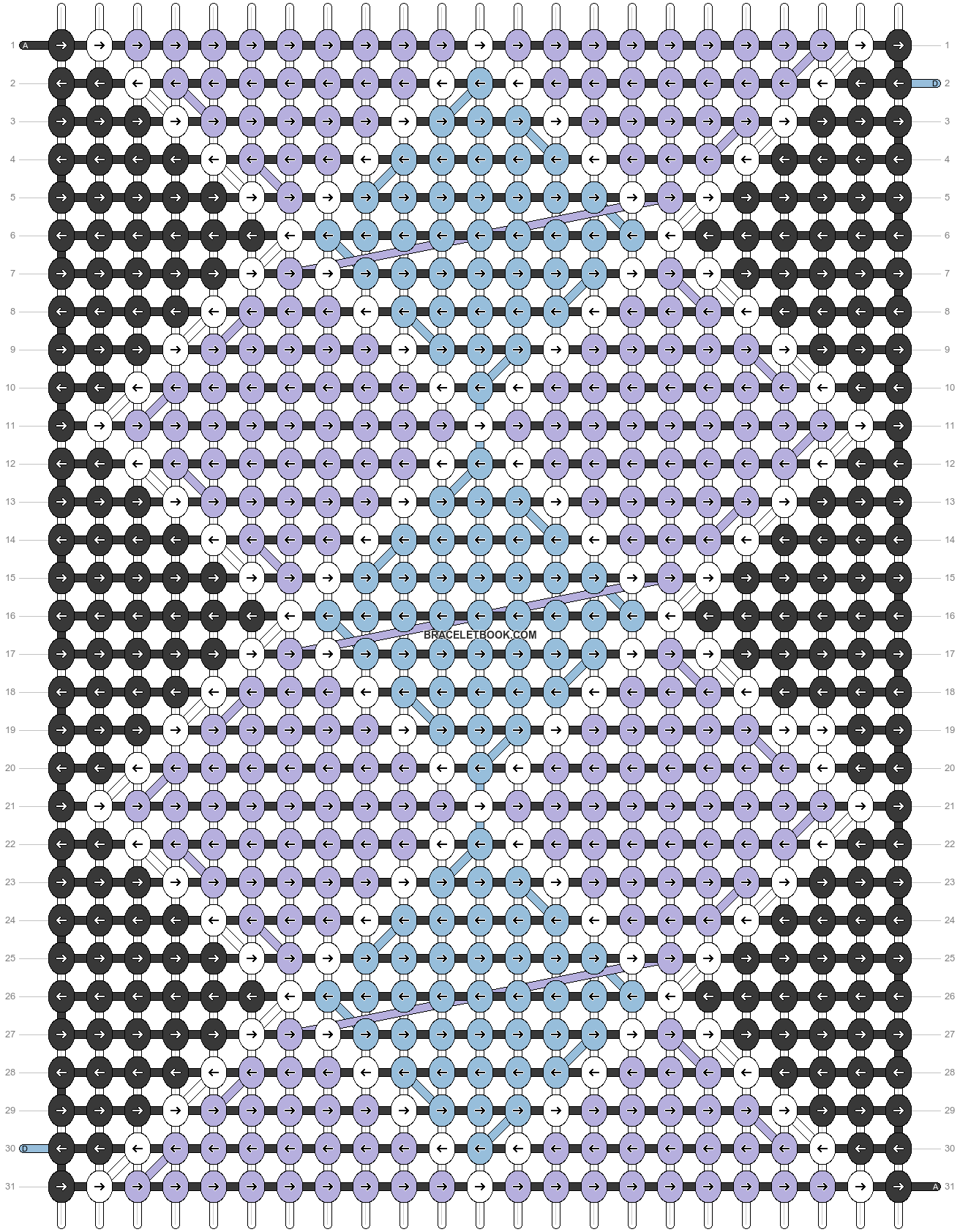 Alpha pattern #22957 pattern