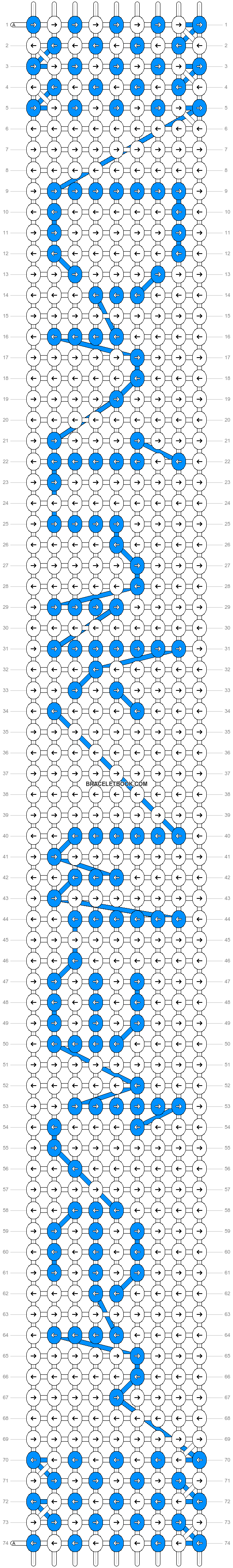 Alpha pattern #22980 pattern