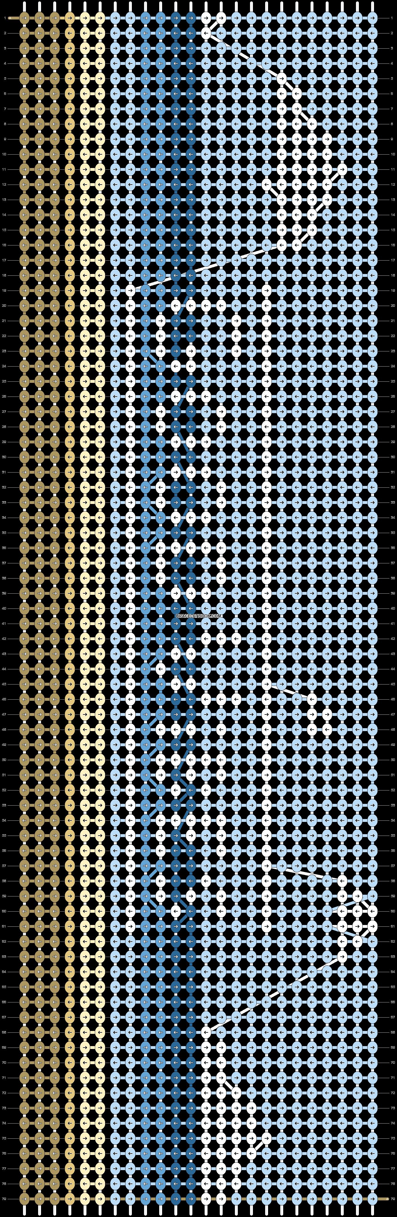 Alpha pattern #22995 pattern
