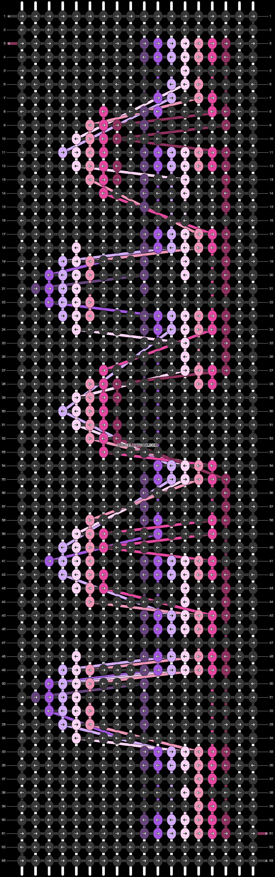 Alpha pattern #22999 pattern