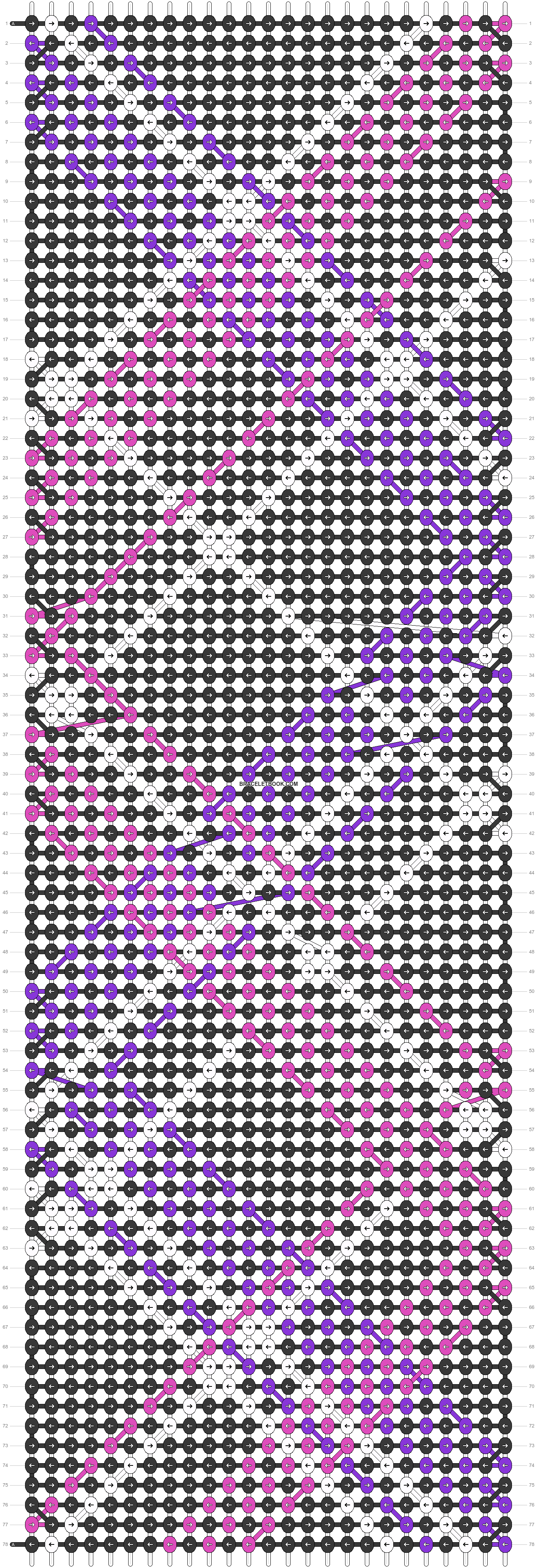 Alpha pattern #23000 pattern