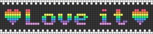 Alpha pattern #23025