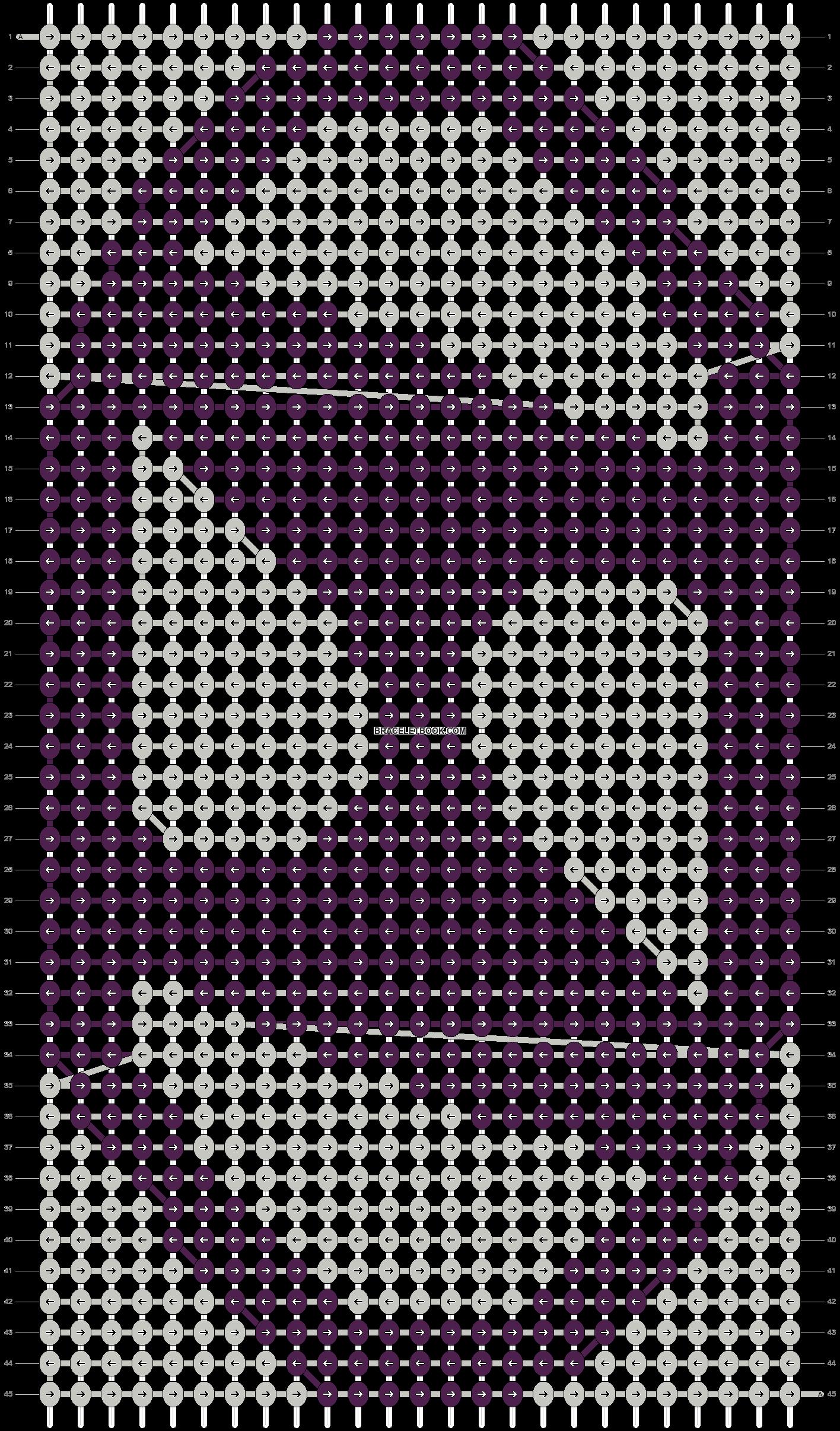 Alpha pattern #23026 pattern
