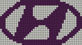 Alpha pattern #23026