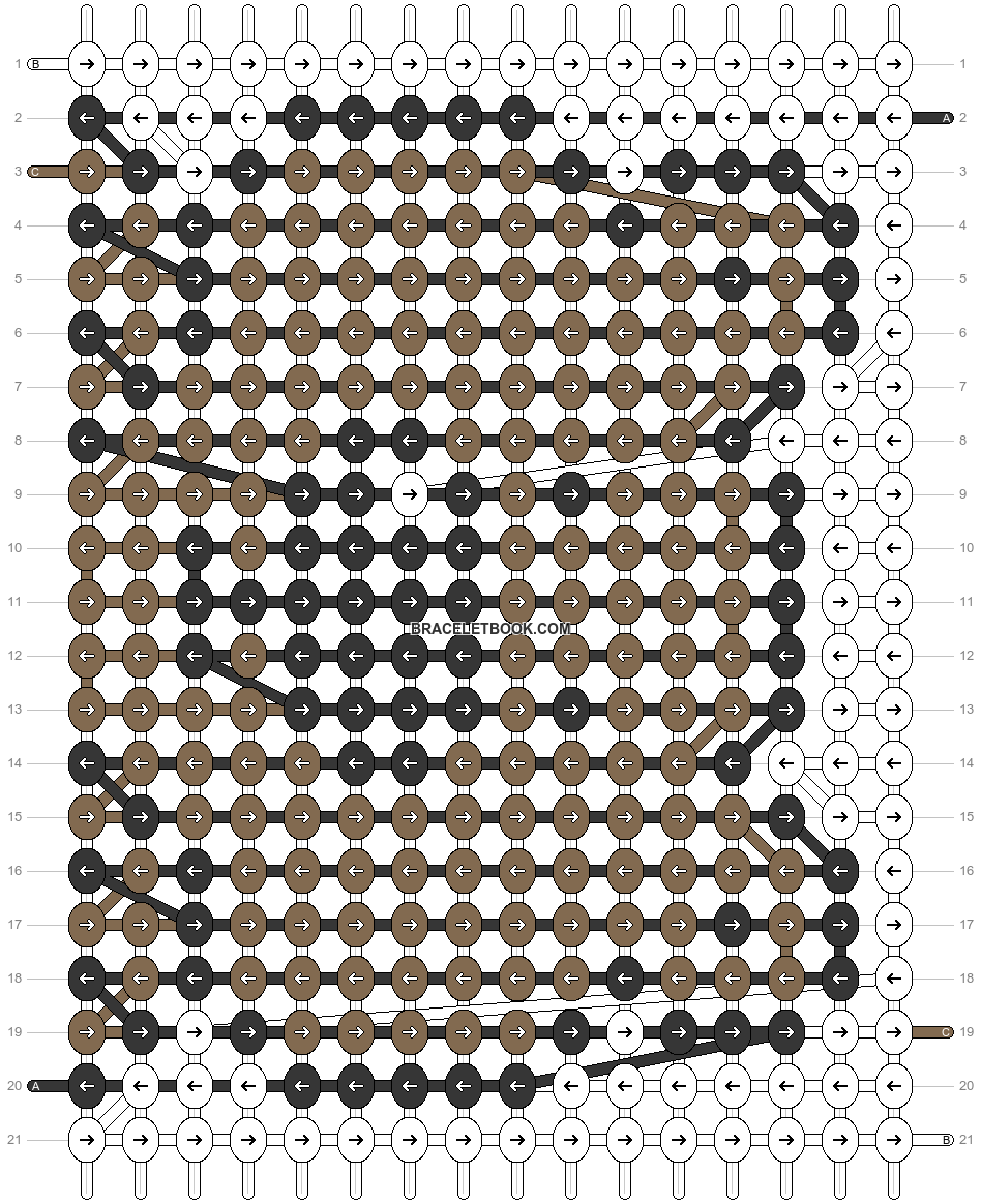 Alpha pattern #23031 pattern