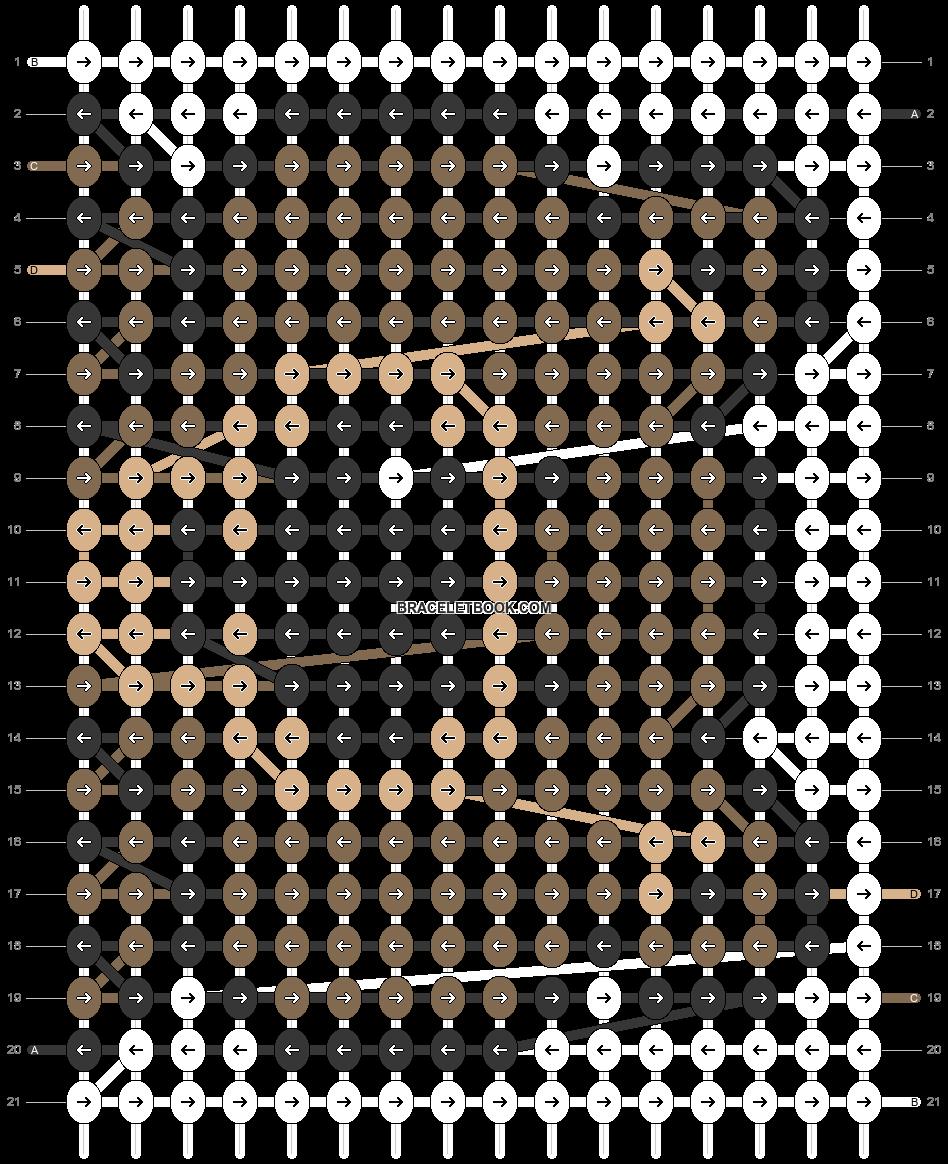 Alpha pattern #23060 pattern