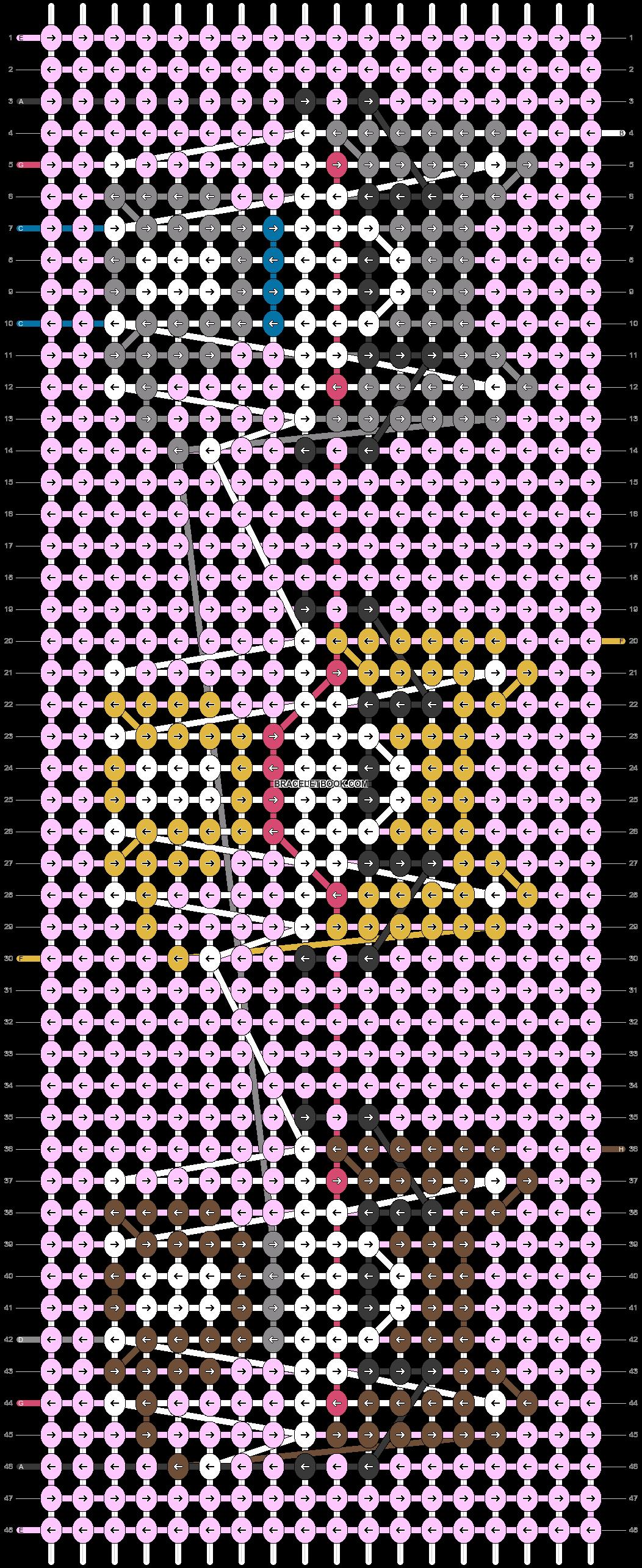 Alpha pattern #23079 pattern