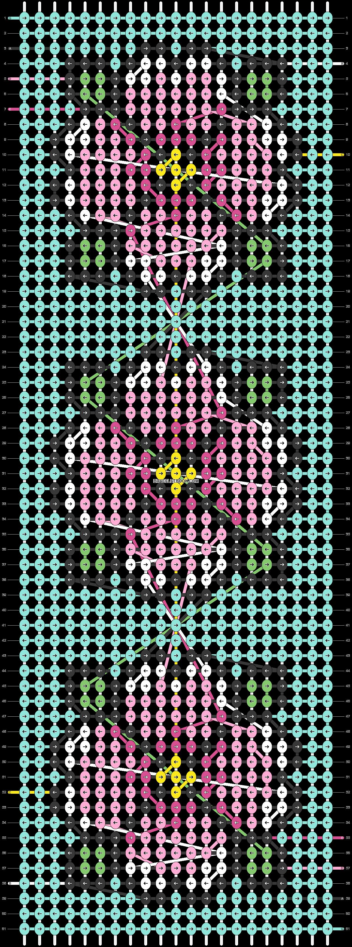 Alpha pattern #23080 pattern