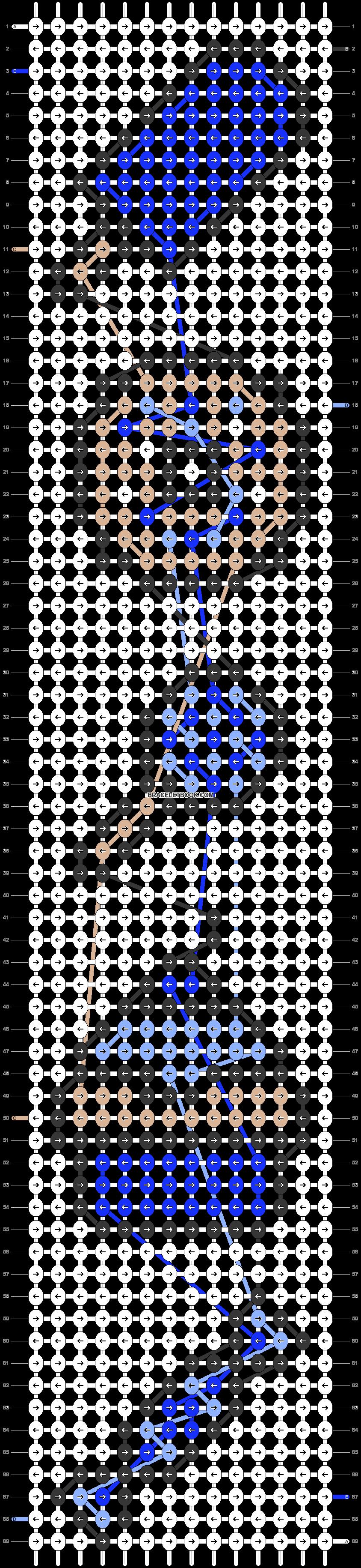 Alpha pattern #23085 pattern