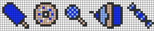 Alpha pattern #23085
