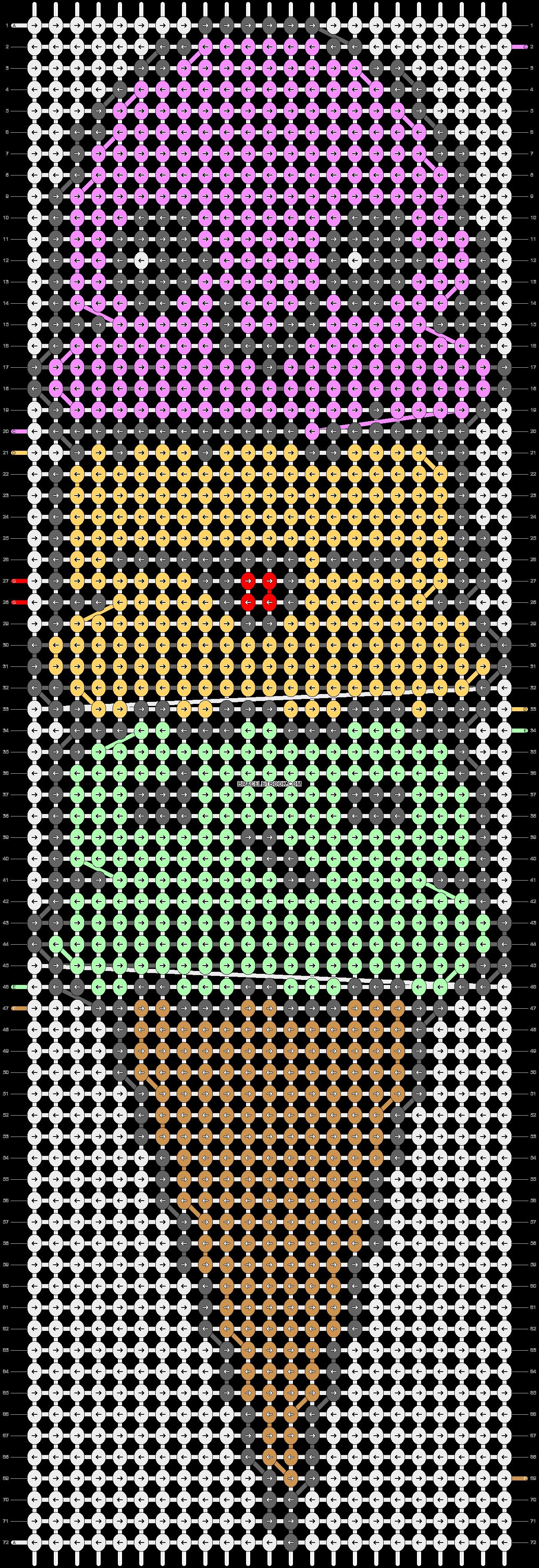 Alpha pattern #23086 pattern