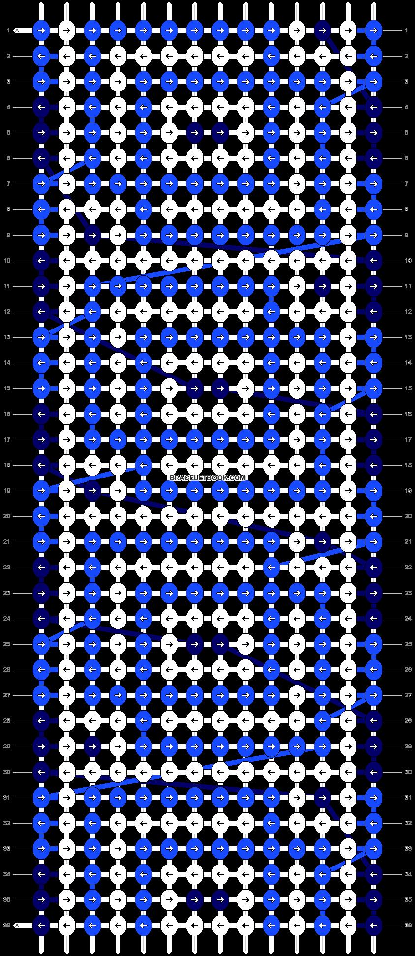 Alpha pattern #23100 pattern