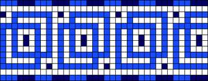 Alpha pattern #23100