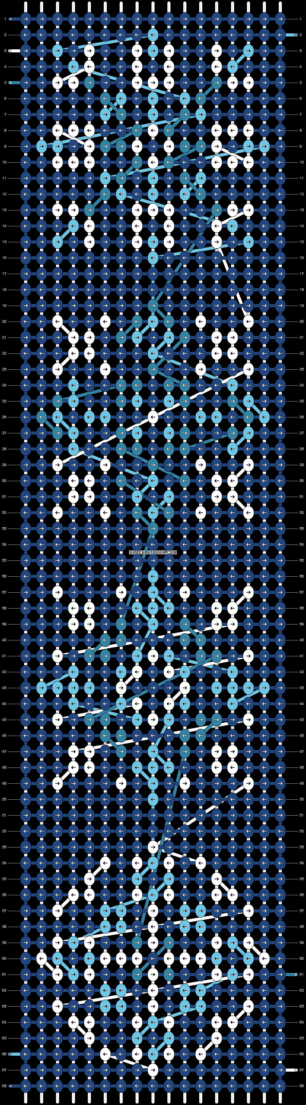 Alpha pattern #23108 pattern