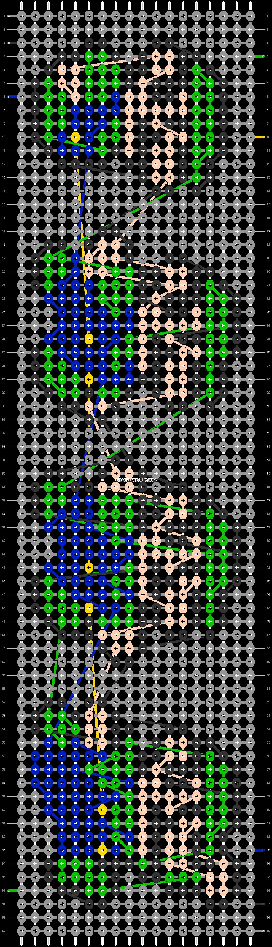 Alpha pattern #23110 pattern