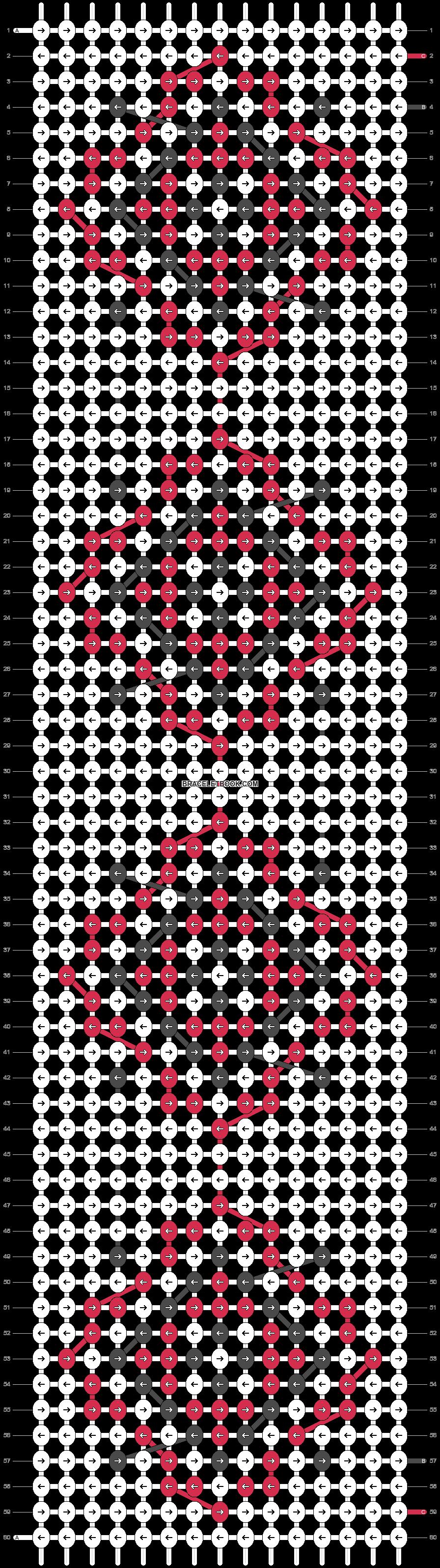 Alpha pattern #23120 pattern