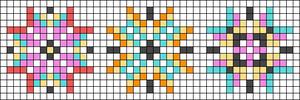 Alpha pattern #23121
