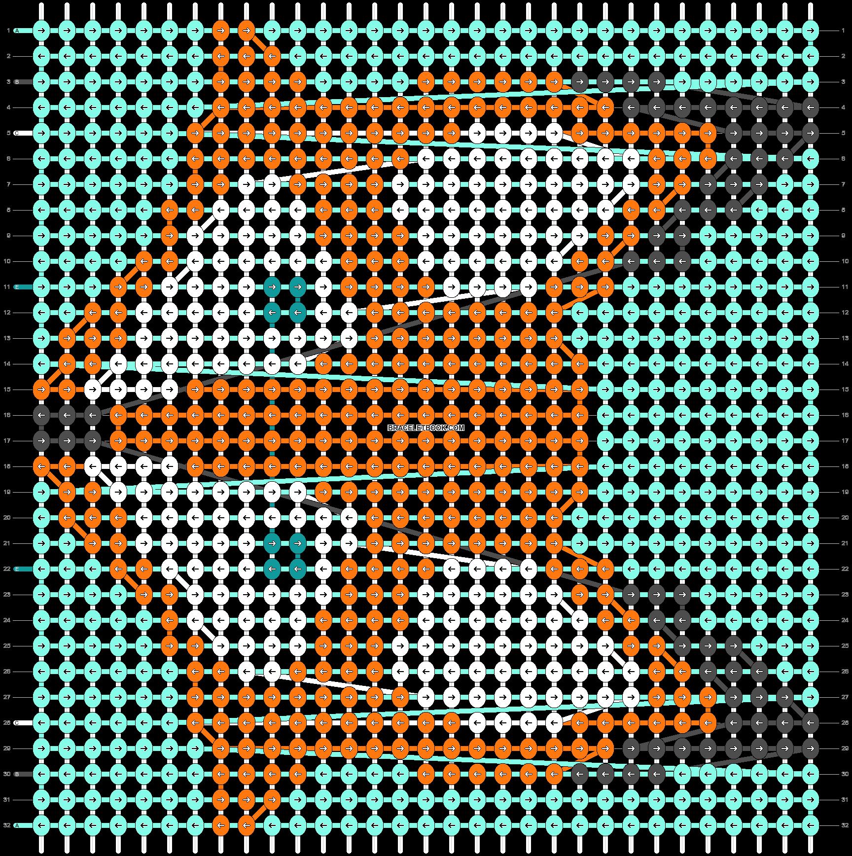 Alpha pattern #23131 pattern