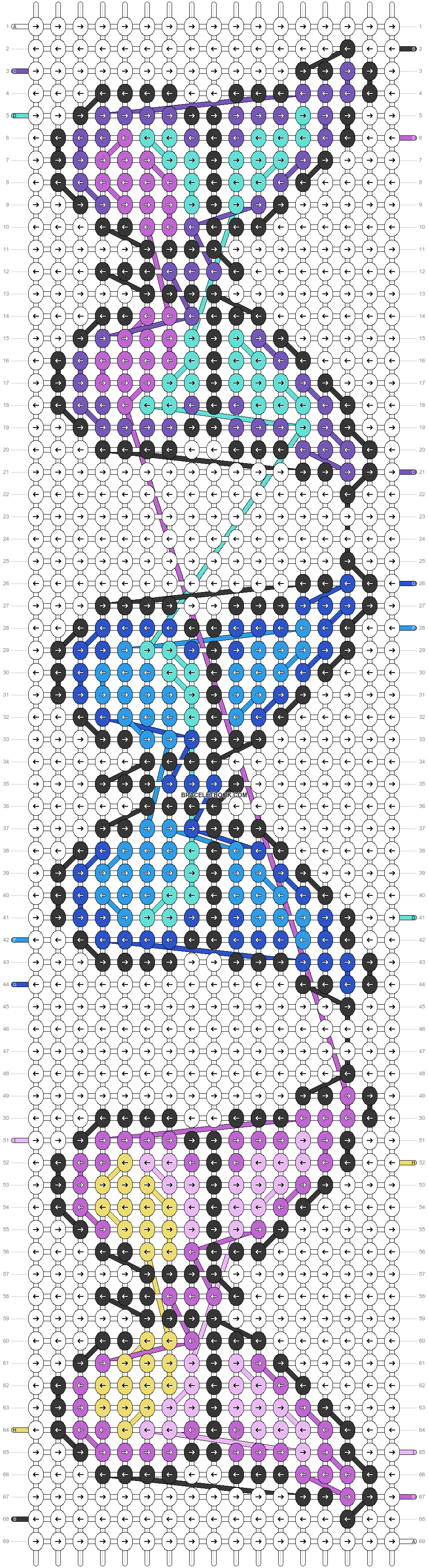 Alpha pattern #23134 pattern