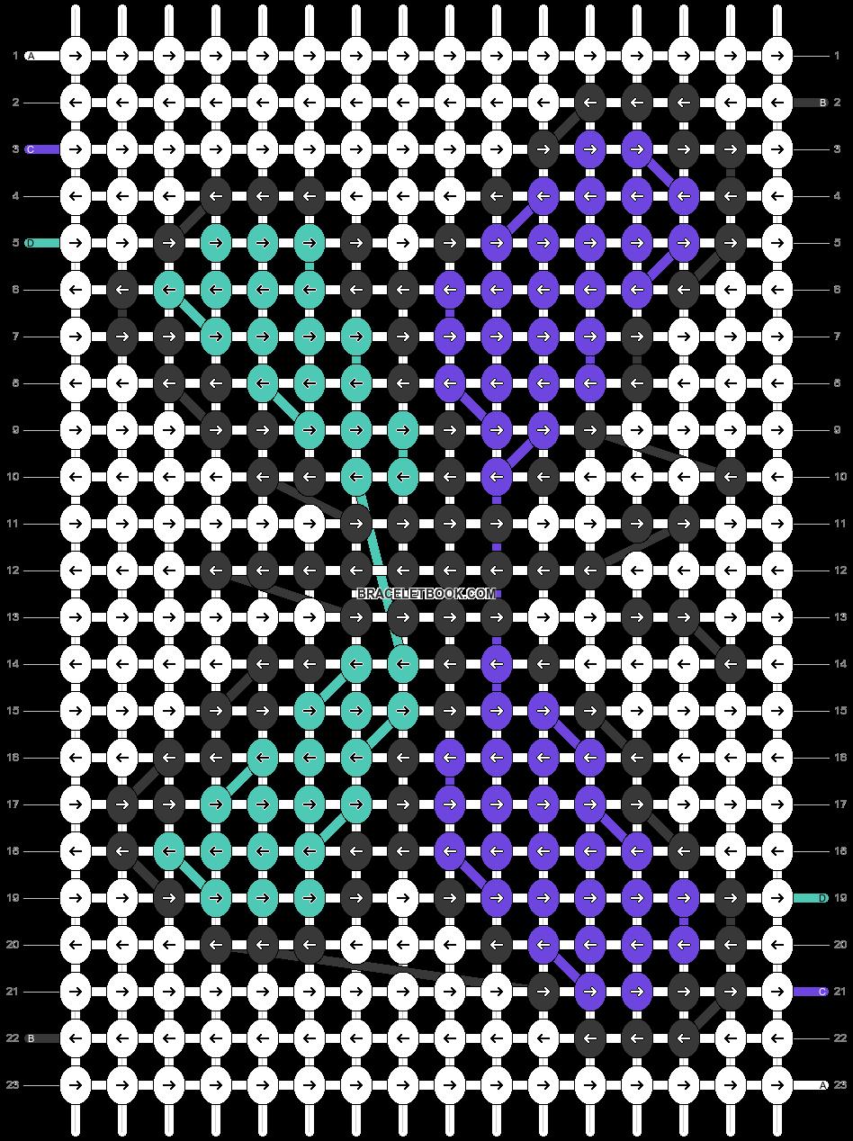 Alpha pattern #23135 pattern