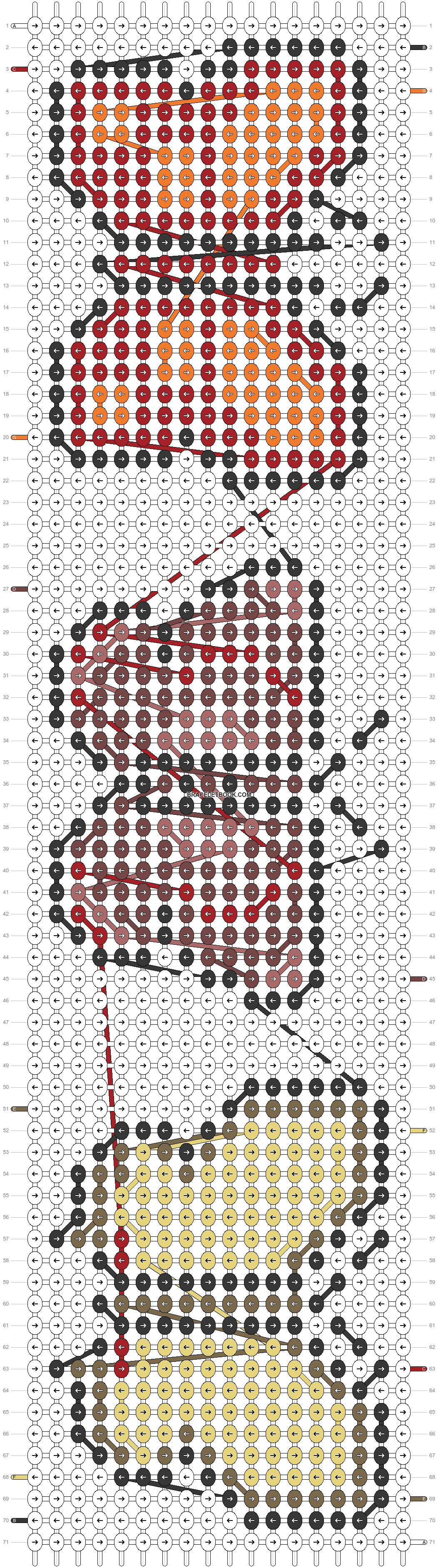Alpha pattern #23136 pattern