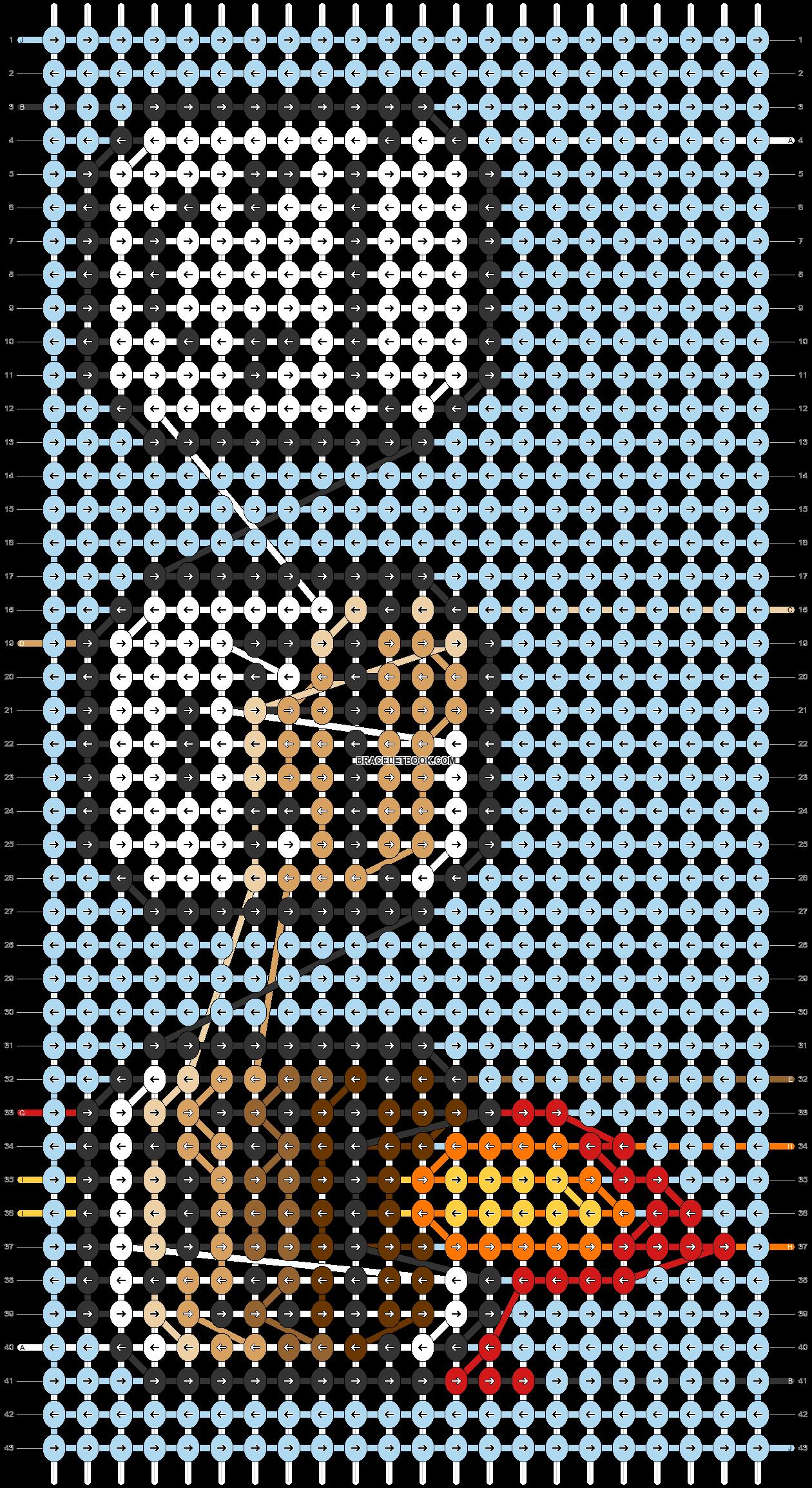 Alpha pattern #23146 pattern