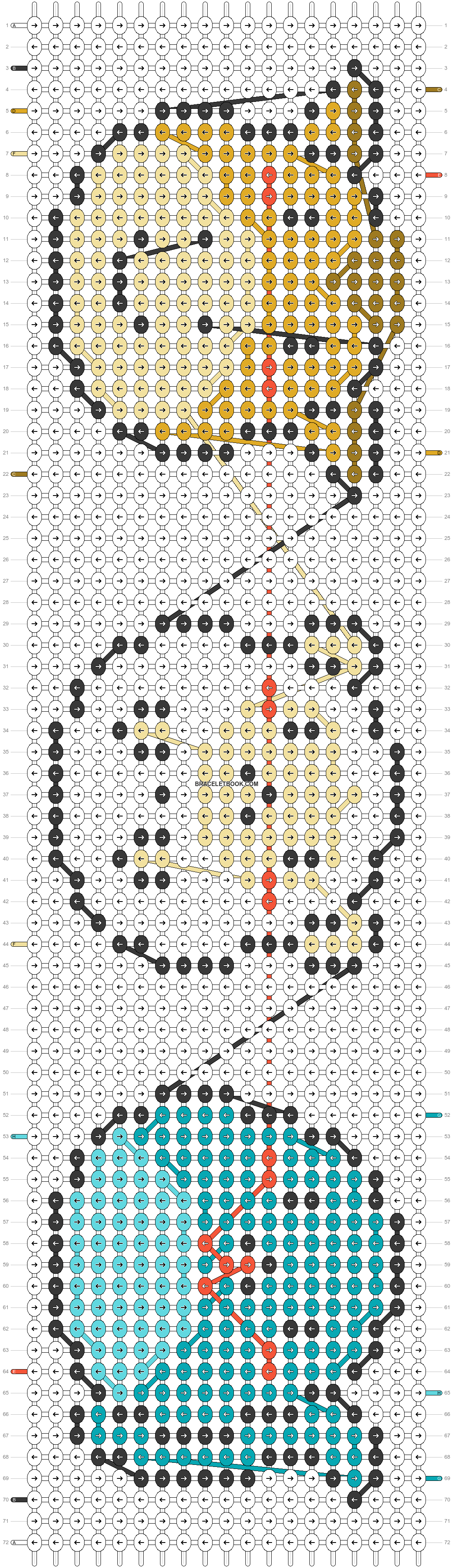 Alpha pattern #23150 pattern