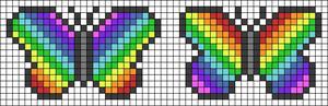 Alpha pattern #23165