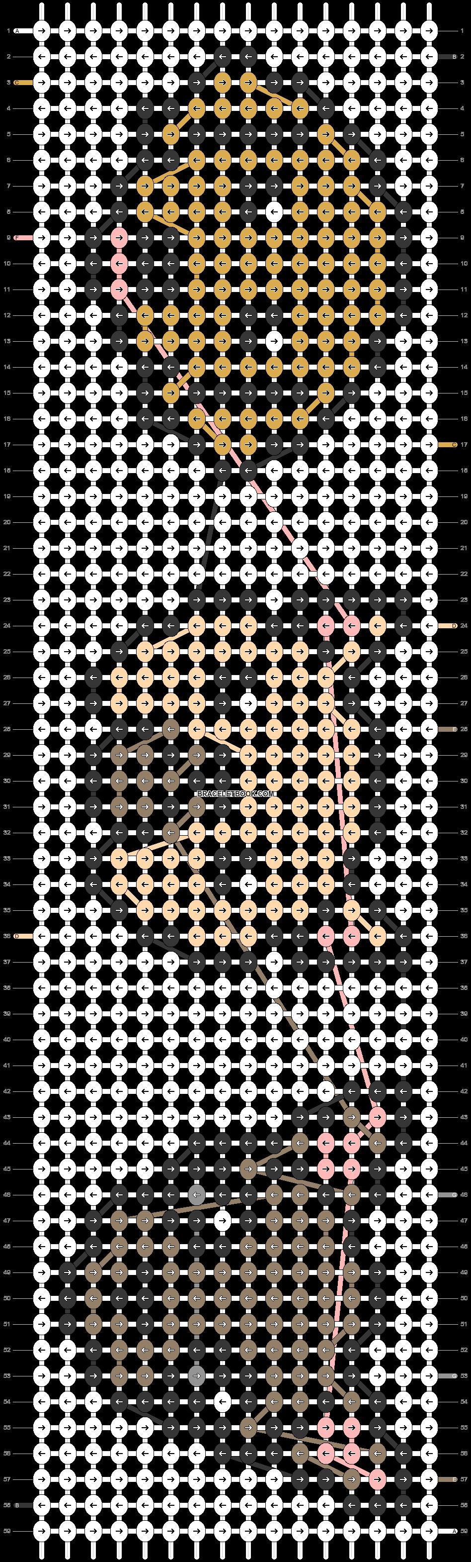 Alpha pattern #23174 pattern