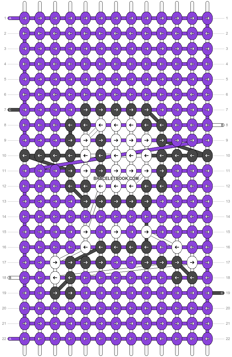 Alpha pattern #23217 pattern
