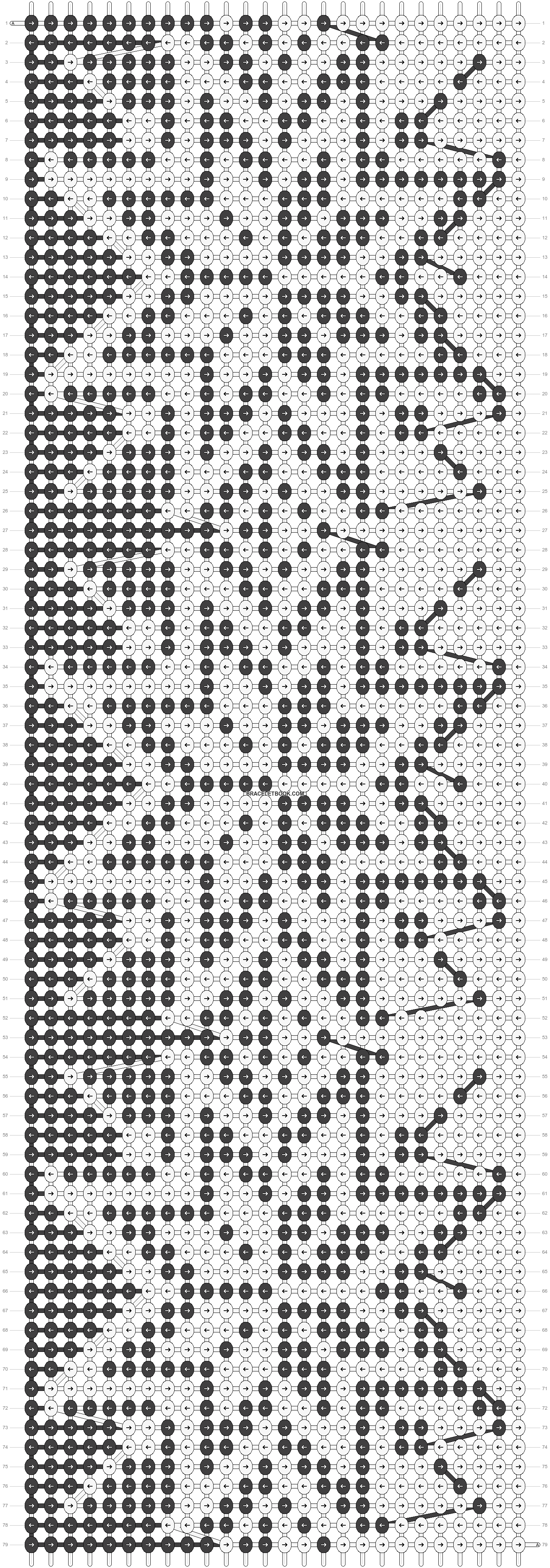 Alpha pattern #23232 pattern