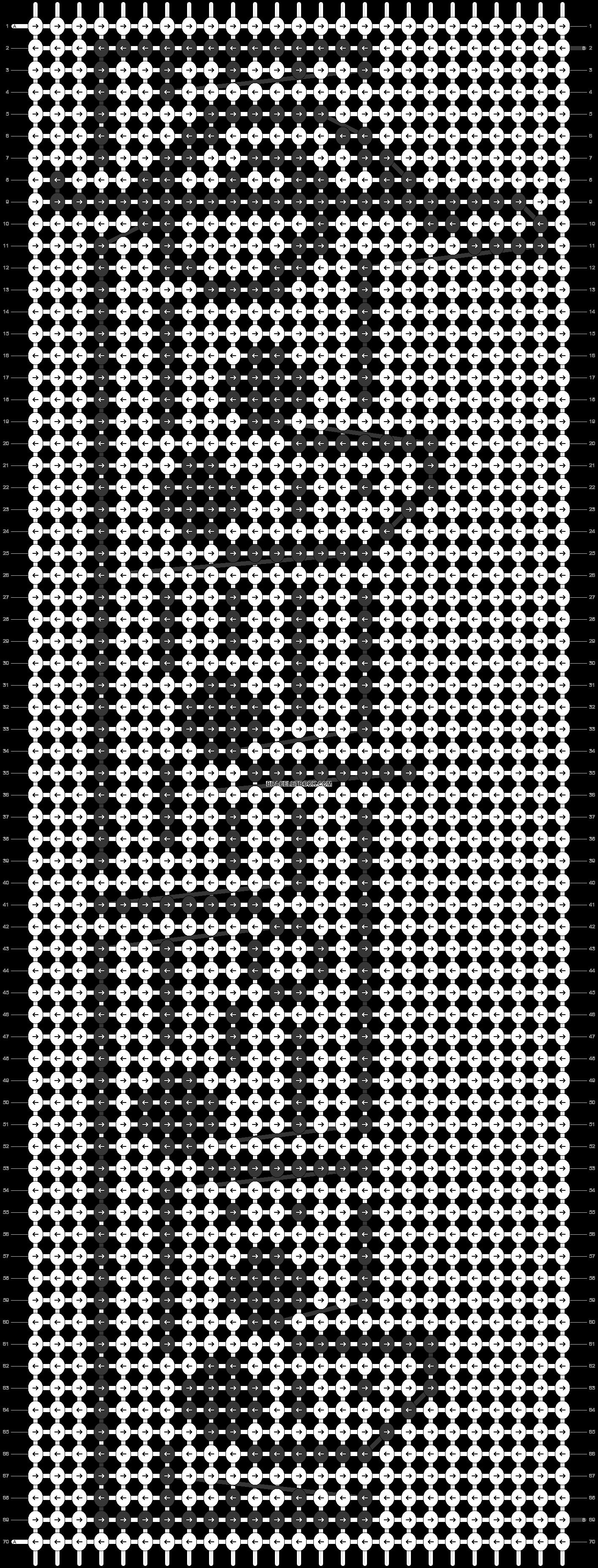 Alpha pattern #23233 pattern