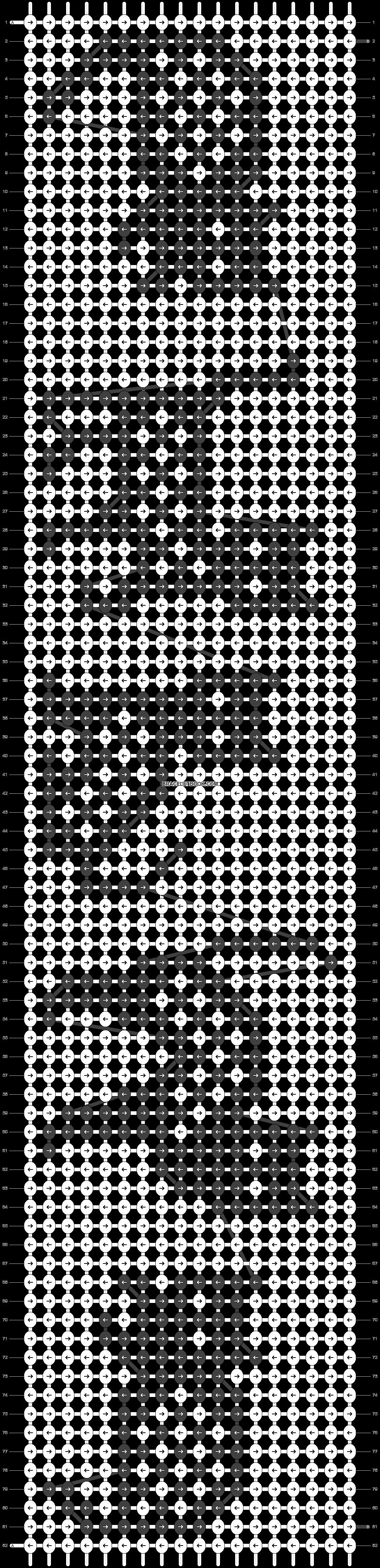 Alpha pattern #23234 pattern