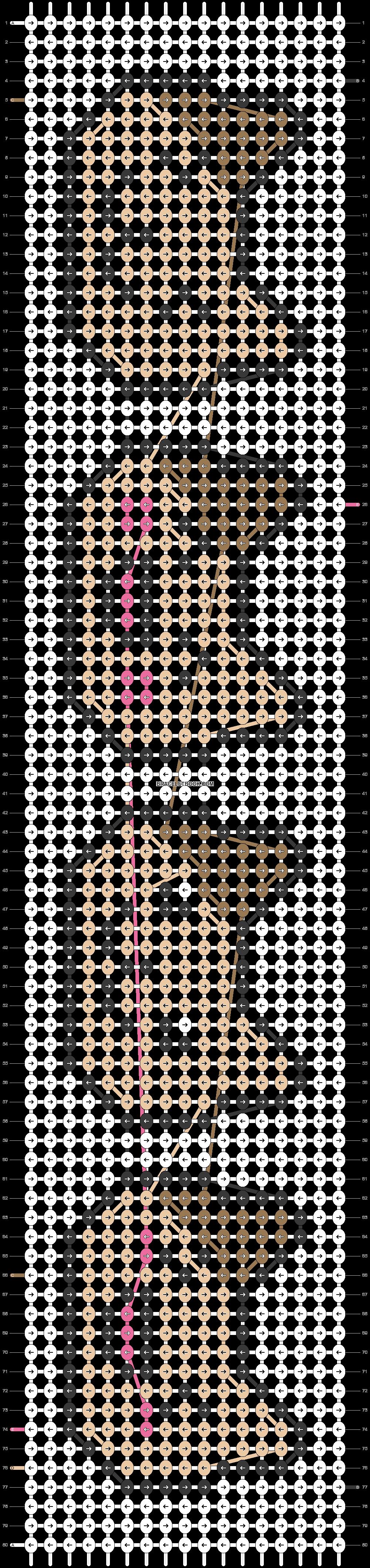 Alpha pattern #23249 pattern