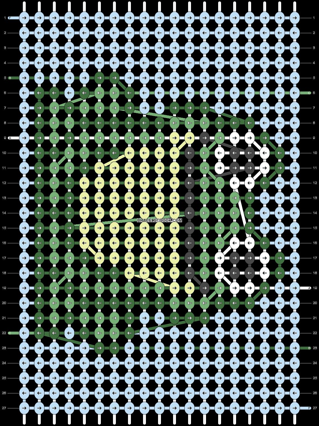 Alpha pattern #23284 pattern
