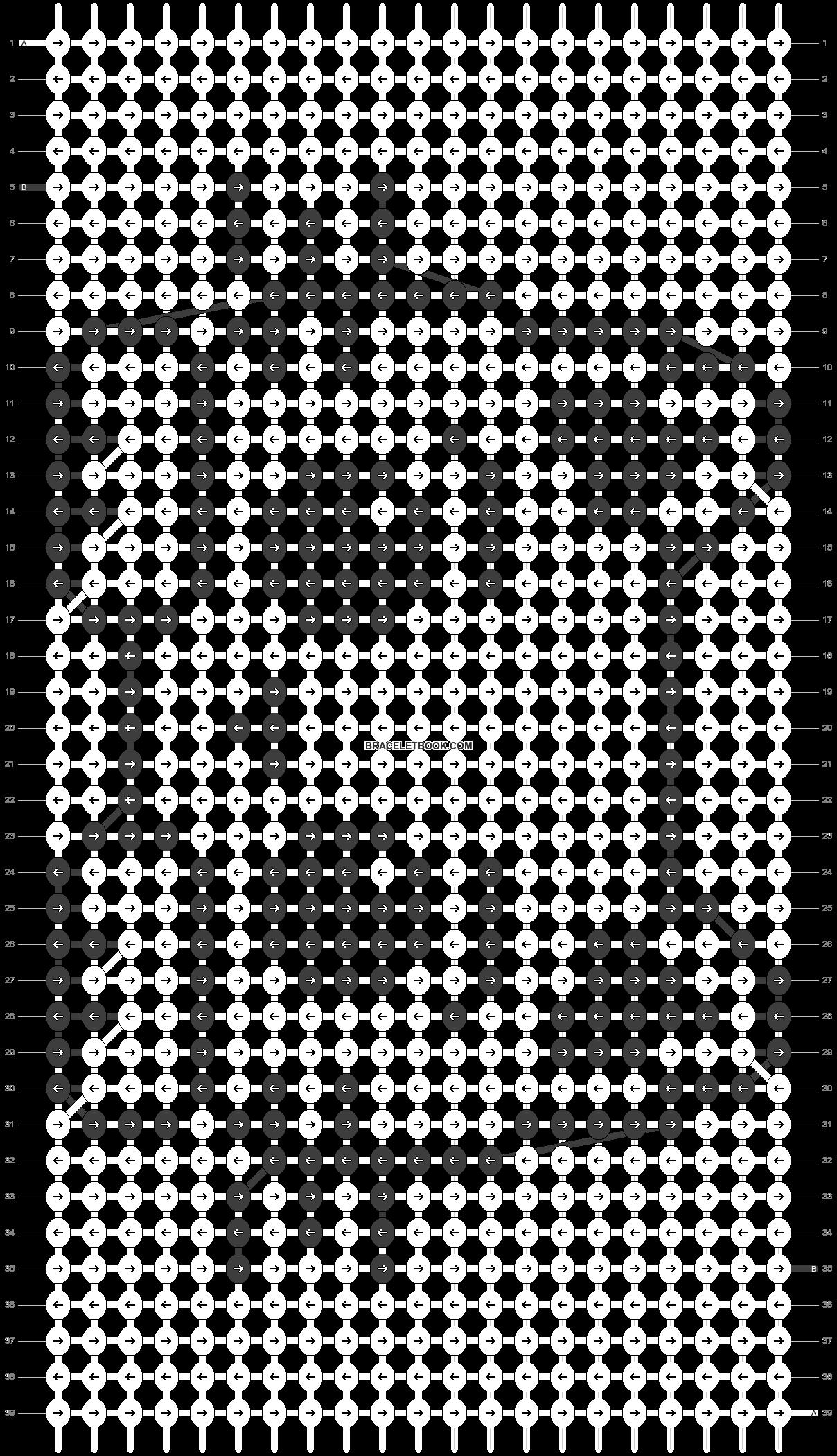 Alpha pattern #23286 pattern