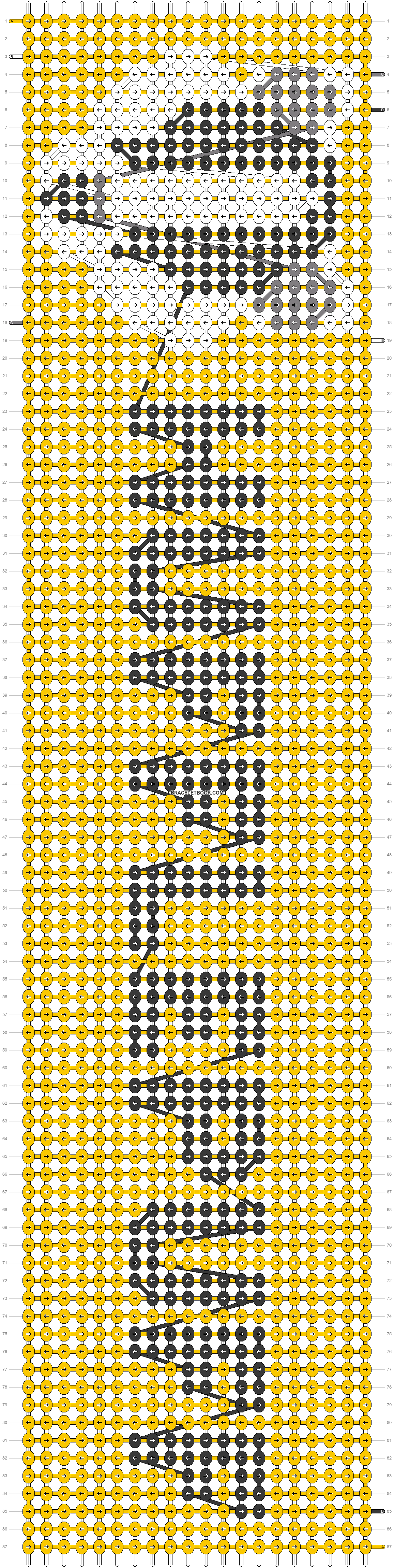 Alpha pattern #23310 pattern