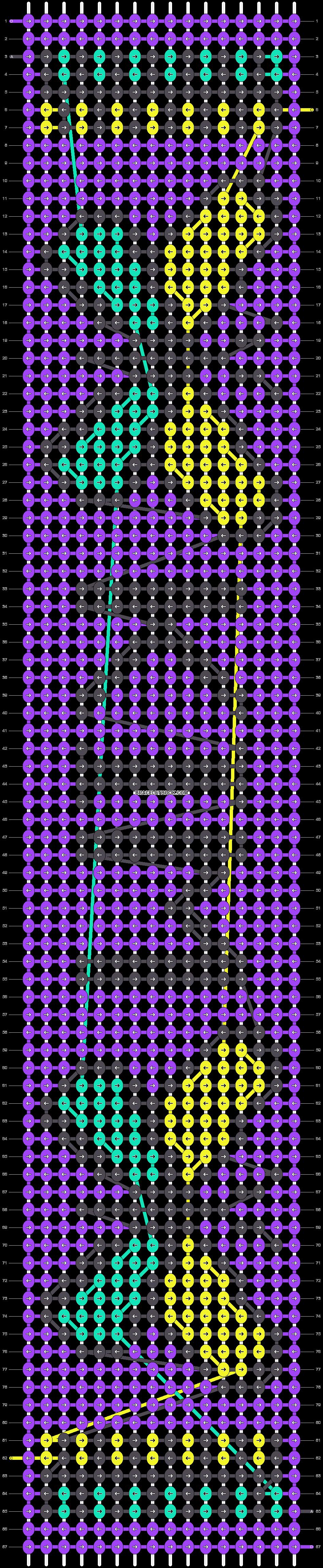 Alpha pattern #23338 pattern