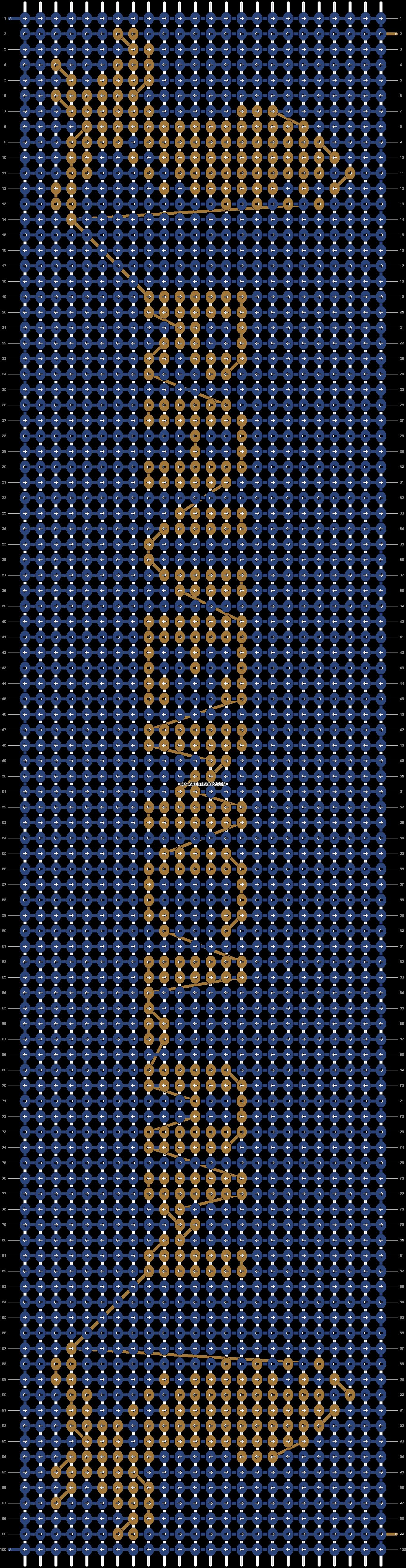 Alpha pattern #23341 pattern